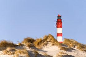 Amrumer Leuchtturm im Weltnaturerbe Wattenmeer