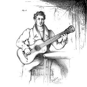 Sor, Fernando: Guitarre-Schule. 1831. Figur 7.