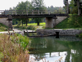 Kanalbrücke Loderbach, Foto: Gemeinde Berg