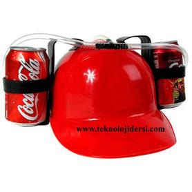 içecekli şapka