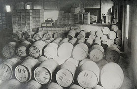 Delord vintages and bottling in the 50s.