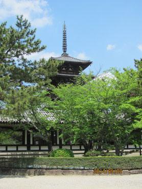 法隆寺の塔