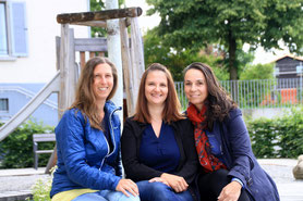 Petra Bertsch, Karina Büchler & Elke Feldkircher