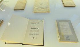 La muestra indaga en la vida y obra de Lorca a través de Fuente Vaqueros, Granada, Madrid, Nueva York, Cuba o Barcelona. Foto: Junta de Andalucía