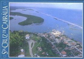 cartão postal de Sta. Cruz Cabrália