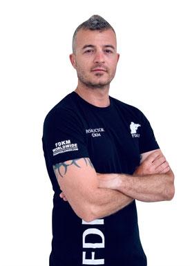 Presidente de FDKM Massimiliano Marsala