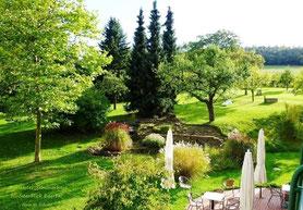 Bio-Hotel, Seminarzentrum fünfseenblick Edersee, Garten