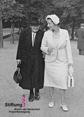 Sara Nussbaum mit Tochter Sofie in den Fünfzigerjahren