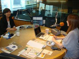 アトリエMayFM大阪ラジオ出演