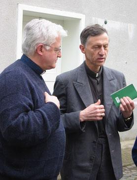 Mit Bischof Antal in der Ukraine