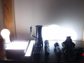 様々な懐中電灯・電球