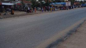 Befestigte Strasse in Kenya (Bild: https://www.uni-muenster.de)