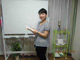新高中国語先生のXH先生です。中国語会話、中国語学習、丁寧に教えてくれる先生です。