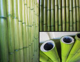 Herstellung von über 300 Bambusstangen mit jeweils eingelassenem Alurohr, Länge bis zu 200 cm