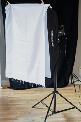 Godox SK400, Studioblitz, flash, Test, Review, Meinung, Bowens, Phot-R 60x90, Softbox, doppel Diffusor