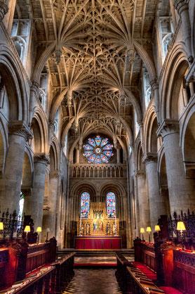 Nhà thờ Cathédrale de Christ. Université d'Oxford