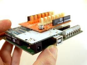 ArduiBox din rail enclosure set for Arduino