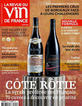 La revue du vin de France Salon SAVIM vin et gastronomie