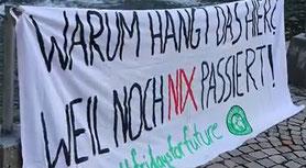 Zornige Videobotschaft an LH Wallner und die Bildungsdirektion Bild:Scrsht FFF Vorarlberg