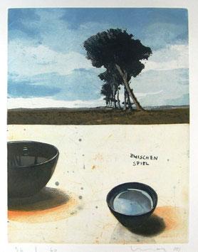Kurt Mair, opera grafica, acquaforte acquatinta