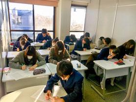 西東京市谷戸校モーニングゼミ授業風景