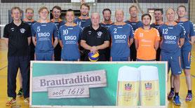 Die Bezirksliga-Volleyballer des VC-DJK Passau zum Saisonauftakt 2018/19