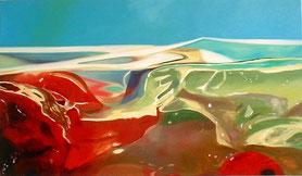 Johannistal Öl auf Leinwand 70 x 120 cm