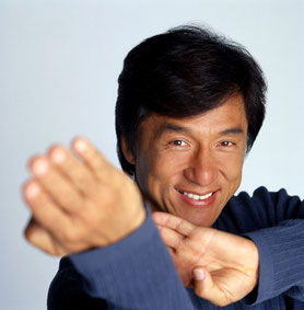 Jackie Chan, AS en Gémeaux, Soleil en Bélier.
