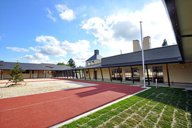 2016年に完成した いわき育英舎の新園舎