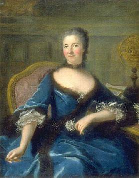 Gabrielle-Émilie Le Tonnelier de Breteuil, Marianne Loir. Bordeaux, Musée des Beaux-Arts.