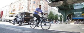 Mit dem e-Bike zur Arbeit fahren
