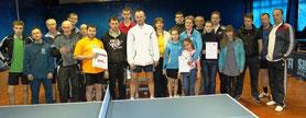 Победители и участники турнира Открытия Клуба