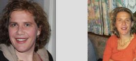 Februar 2012 mit 94 kg mit noch 42 J. linkes Bild November 2012 mit 70 kg mit 43 J. rechtes Bild