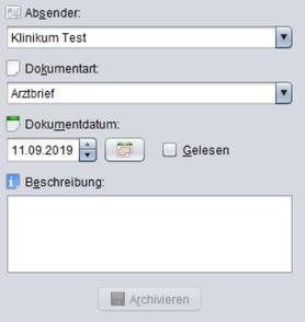 abasoft EDV-Programme GmbH EVA elektronisch verwaltete Arztpraxis Dokumente markieren gelesen und ungelesen EVA-Archiv