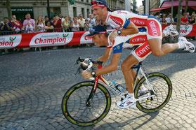 """Avec J Casper sur les """"Champs"""" en 2006"""