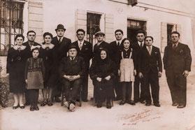 Famille Zucchi in de jaren '50