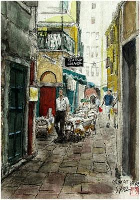ヴェネツィア・路地レストラン(F4号)HMさん