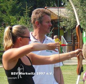 """Foto - Schnupperkurs mit den Campingfreunden """"Die Elbeschmetterlinge e.V."""" und dem BSV Merkwitz 1997 e.V."""