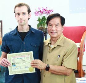 Zertifizierung durch Mantak Chia in Thailand