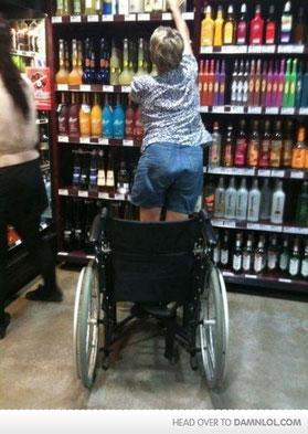 Power of alchohol!