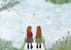 the secret lake of swan