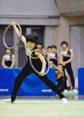 今岡 嵩選手(中1)