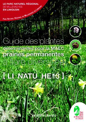Livret espèces déterminantes (MAEC) réalisé pour le PNR Millevaches