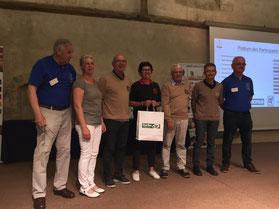 4ème place de l'équipe de golf de Sargé au quizz au CDOS