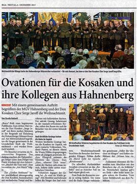Remscheider General-Anzeiger 06.12.2013