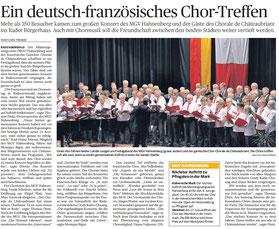 Bergische Morgenpost 02.05.2014