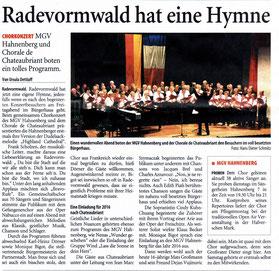 Remscheider General-Anzeiger 02.06.2014