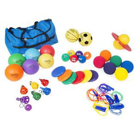 Kit ou ensemble de jeux sportifs et récréatifs pour enfants pas cher à prix discount.