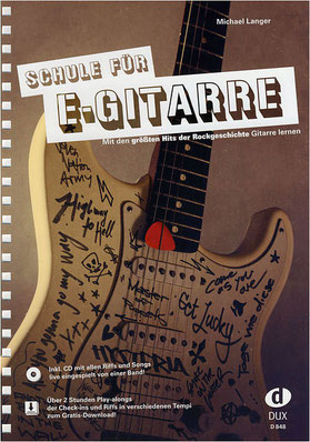 Lehrbuch E-Gitarre