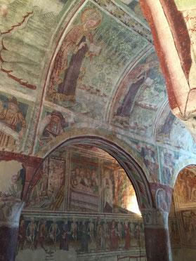 Hrastovlje, Slowenien, Kirche der Heiligen Dreifaltigkeit